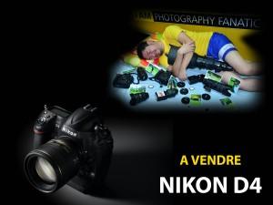 nikon-d4-a-vendre
